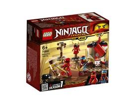 70680 LEGO® NINJAGO Ninja Tempeltraining:   Trainiere gemeinsam mit Kai und Nya und werde zum Meister des Spinjitzu. Leg