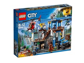 60174 LEGO® City Hauptquartier der Bergpolizei:   Schlag Alarm! Ein mysteriöses baumförmiges Etwas bewegt sich draußen über di