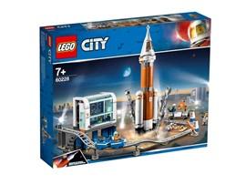 60228 - LEGO® City - Weltraumrakete mit Kontrollzentrum:   Kleine Weltraumforscher werden von diesem von der NASA inspirierten Raketens