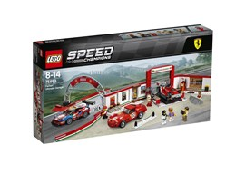 75889 LEGO® Speed Champions Ferrari Ultimative Garage:   Die LEGO® Speed Champions Ferrari Ultimative Garage ? ultimative Rennträume