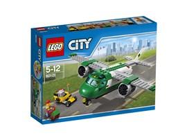60101 LEGO® City Flughafen-Frachtflugzeug:   Hilf dem Piloten und dem Flughafenarbeiter, die Pakete versandfertig zu mach