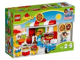 10834 LEGO® DUPLO® Pizzeria:   Mit LEGO® DUPLO® Meine Stadt – einer erkennbaren Welt mit modernen DUPLO Fig