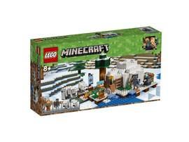 21142 LEGO® Minecraft™ Eisiglu:   Du hast ein Iglu gefunden, wo ein Eisbär und ein Eisbärjunges auf der Suche