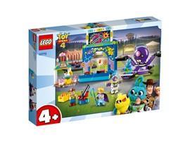 """10770 - LEGO® 4+ - Buzz & Woodys Jahrmarktspaß!:   Mit dem LEGO® 4+ Set """"Buzz & Woodys Jahrmarktspaß!"""" (10770) kannst du gemein"""