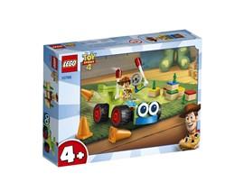 """10766 - LEGO® 4+ - Woody & Turbo:   Kinder können mit dem Spielset """"Newbury's spukende Schule"""" (70425) von LEGO®"""