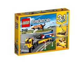 31060 LEGO® Creator Flugschau-Attraktionen:   Begeistere die Zuschauermengen mit den fantastischen Flugschau-Attraktionen.