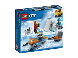 60191 LEGO® City Arktis-Expeditionsteam:   Entdecke unfassbare Dinge mit dem LEGO® City Set Arktis-Expeditionsteam (601