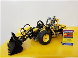 "Gelber Bagger 8459:   Fertiges Lego Modell von LEGO®    ""Gelber Bagger von Lego Technic - B Mod"