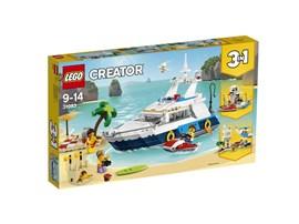 """31083 LEGO® Creator Yacht:   Das LEGO® Creator 3in1-Set """"Abenteuer auf der Yacht"""" (31083) ist genau richt"""