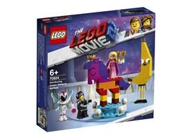70824 The LEGO Movie™ 2 Das ist Königin Wasimma Si-Willi:   Lerne mit Lucy erstmals Königin Wasimma Si-Willi kennen! Doch wirst du die F