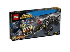 76055 LEGO® DC Universe Super Heroes™ Batman™: Killer Crocs™ Überfall in der K:   Endlich ist Verstärkung da! Hilf Red Hood™ und Katana™, den monströsen Kille