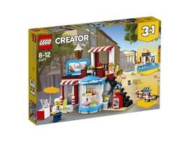 31077 LEGO® Creator Modulares Zuckerhaus:   Verwöhne deine Gäste in dieser gemütlichen LEGO® Konditorei mit kleinen Köst