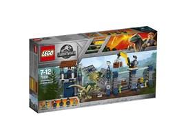 75931 LEGO® Jurassic World™ Angriff des Dilophosaurus:   Diesem unterhaltsamen Spielset diente Jurassic World™ als Vorbild. Hilf den