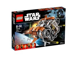 75178 LEGO® Star Wars™ Jakku Quadjumper™*:   Hilf Rey, Finn und BB-8, von Jakku zu flüchten, bevor der First Order Stormt