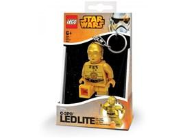 37105872 LEGO® Taschenlampe LEGO SW C3PO Minitaschenlampe:   LEGO Star Wars - C3PO Minitaschenlampe und Schlüsselanhänger. Die Arme und B