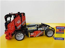 "Race Truck:   Fertiges Lego Modell von LEGO®    ""Race Truck, rot""    Modell 99"
