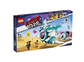 """70830 The LEGO Movie™ 2 Sweet Mischmaschs Systar Raumschiff:   Hilf Emmet und Lucy auf ihrer Flucht im THELEGO®MOVIE2™ Set """"Sweet Mischm"""