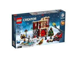 10263 - LEGO® Creator - Winterliche Feuerwache:   Herzlich willkommen in der schneebedeckten Winterlichen Feuerwache aus dem L