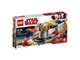 75176 LEGO® Star Wars™ RESISTANCE TRANSPORT POD™:   Bring dich mit dem Resistance Transport Pod in Sicherheit. Öffne das Cockpit