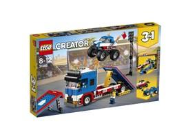 """31085 LEGO® Creator Stunt-Truck-Transporter*:   Das LEGO® Creator 3in1-Set """"Stunt-Truck-Transporter"""" ist genau richtig, um s"""