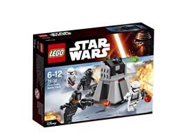 75132 LEGO® Star Wars™ First Order Battle Pack:   Die Streitkräfte der Rebellen kommen immer näher und müssen mit dem mächtige