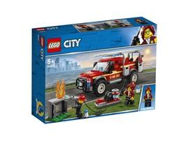 60231 - LEGO® City - Feuerwehr-Einsatzleitung:   Mit dem detailreichen Feuerwehrauto-Bauset aus der TV-Serie, die 2019 erstma