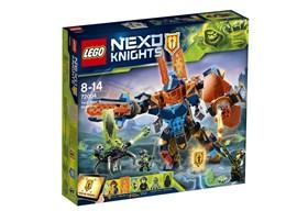 72004 LEGO® Nexo Knights Clays Tech-Mech*:   Schnapp dir Monstrox, bevor er Clays Mech mit seiner bösen Techno-Infektion