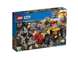 60186 LEGO® City Schweres Bohrgerät für den Bergbau:   Grab nach Gold und nimm Proben! Treib das schwere Bohrgerät tief in den Stol