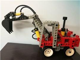 Bagger:   Fertiges Lego Modell Bagger