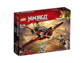 70650 LEGO® NINJAGO Flügel-Speeder:   Baue den LEGO® NINJAGO® Flügel-Speeder (70650) aus den Trümmern des Ninja-Fl