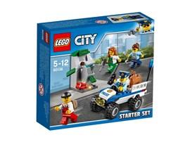 60136 LEGO® City Polizei-Starter-Set:   Halte den Lastwagen an und lass den Polizeihund von der Leine! Der in dem mo
