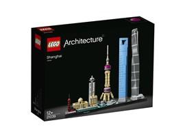 21039 LEGO® Architecture Shanghai:   Mit diesem realistischen Modell 21039 aus der LEGO® Architecture Skyline Kol