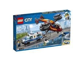 60209 LEGO® City Polizei Diamantenraub:   Schnapp dir deine Ausrüstung und komm zur LEGO®City Polizei! Klettere ins F