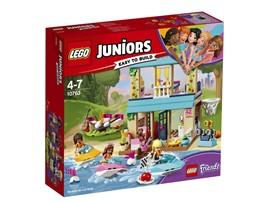 "10763 LEGO® Juniors Stephanies Haus am See*:   Erlebe spannende LEGO® Juniors Abenteuer an ""Stephanies Haus am See"" (10763)"