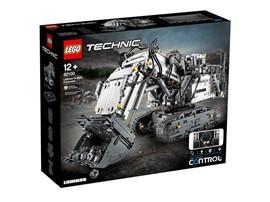42100  LEGO® Technic  Liebherr Bagger R 9800:   Mach dich bereit für ein kolossales LEGO® Bau- und Spielerlebnis – mit dem L