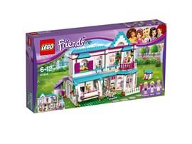 41314 LEGO® Friends Stephanies Haus:   Stephanie verbringt die meiste Zeit beim Backen in der Küche. Du kannst ihr