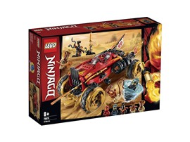 70675 - LEGO® NINJAGO - Katana 4x4:   Cooles 4x4-Spielzeugauto und Ninja-Actionfiguren, mit denen Kinder die episc