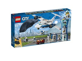 60210 LEGO® City Polizei Fliegerstützpunkt:   Sorge mit dem PolizeiFliegerstützpunkt für sichere Straßen in LEGO®City! M