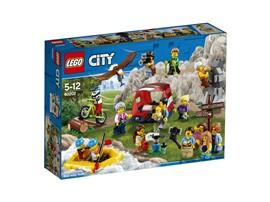 60202 LEGO® City Stadtbewohner – Outdoor-Abenteuer:   Mit dem witzigen Set Stadtbewohner – Outdoor-Abenteuer (60202) kannst du für