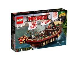 70618 LEGO® NINJAGO Ninja-Flugsegler:   Schließ dich Kai, Lloyd, Zane, Nya, Jay und Cole an, um dich an Bord von Wus