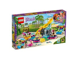"""41374 - LEGO® Friends - Andreas Pool-Party:   Erlebe eine gelungene Pool-Party – mit dem LEGO®FriendsSet """"Andreas Pool-P"""