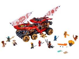 """70677 - LEGO® NINJAGO - Wüstensegler:   Kinder werden es lieben, den LEGO®NINJAGO® Spielzeug-Truck """"Wüstensegler"""" ("""
