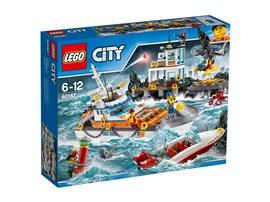 60167 LEGO® City Küstenwachzentrum*:   Schnapp dir dein Fernglas und halte die Augen offen! Moment mal, auf dem Was