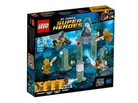 76085 LEGO® DC Universe Super Heroes™ Das Kräftemessen um Atlantis*:   Große Gefahr! Der Parademon™ versucht, die Mother Box zu entwenden. Verscheu