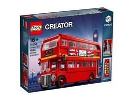 10258 LEGO® Creator Expert Londoner Bus:   Dieser charmante Londoner Bus ist eine Hommage an legendäres Design. Der Dop