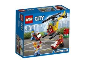 60100 LEGO® City Flughafen Starter-Set:   Schließ dich der Crew an, um einen sehr wichtigen Job zu erledigen! Hilf den