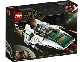 """75248 - LEGO® Star Wars™ -Widerstands A-Wing Starfighter™:   LEGO® Baumeister oder Star Wars™ Fans können mit dem baubaren Spielset """"Wide"""