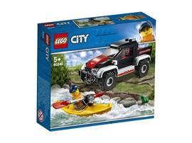 60240 LEGO® City Kajak-Abenteuer:   Lade dein Kajak auf den Geländewagen und erlebe spannende Abenteuer! Hast du