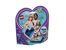 41356 LEGO® Friends Stephanies Herzbox:   Nimm LEGO®Friends Stephanie, das Sportass, in ihrer eigenen Herzbox überall