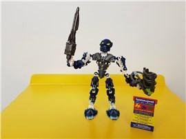 "Bionicle 8728:   Fertiges Lego Modell von LEGO®    ""Inika Toa Hahli von Bionicle 8728"""